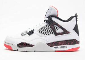 "6676f2a98ec AIR JORDAN 4 RETRO ""PALE CITRON"" 308497-116 White Black ..."