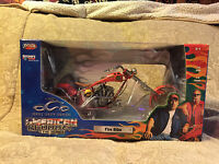 "JoyRide 2004 OCC Orange County Choppers American Chopper ""Fire Bike"" Collectible"