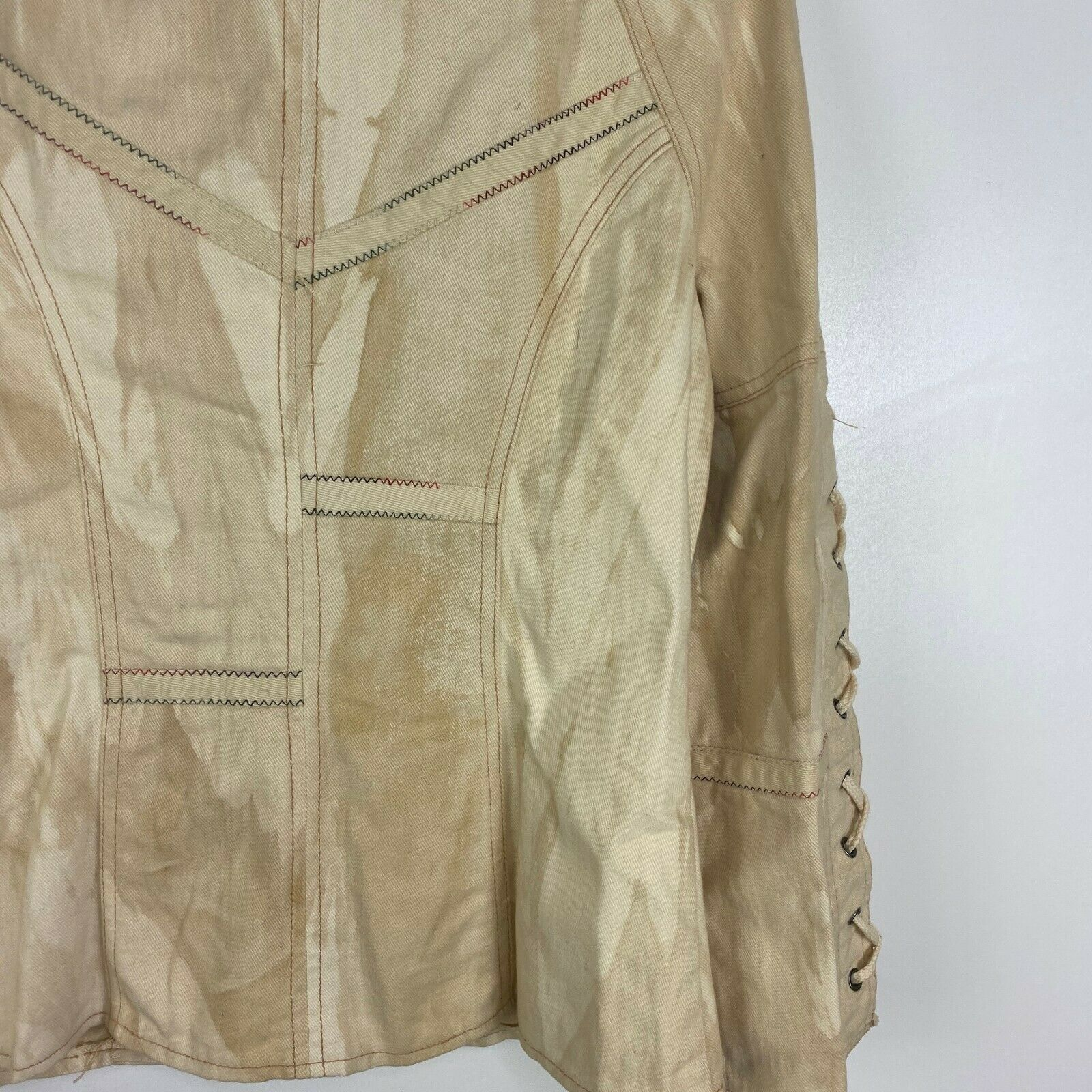 Vintage Roncelli Womens Size 11/12 Tie Sleeve Ful… - image 9