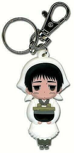 Anime Hetalia Axis Powers America England Russia Plush Necklace Keychain Lanyard