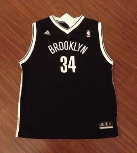the latest 20b4e 81677 Details about Brand New Paul Pierce Brooklyn Nets Youth Adidas Rev 30  Replica Jersey