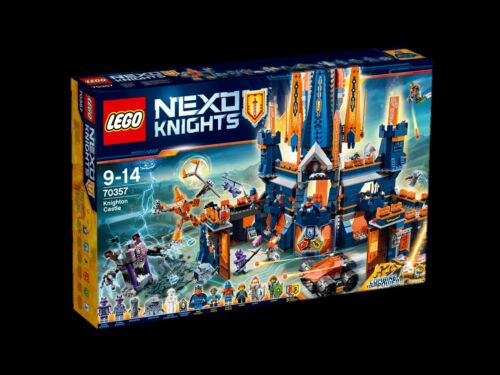 Neuf New 70357 LEGO ® Nexo Knights Château Knighton /_ Knighton Castle