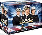 JAG 1-10 (Judge Advocate General) (1995-2005) COMPLETE TV Seasons Series NEW DVD