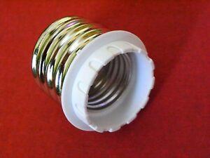 5-x-Adapter-E40-auf-E27-fuer-Leuchtmittel-Halogen-LED-Lampen-Strahler-Gluehlampen