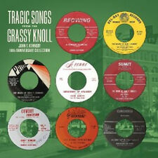 TRAGIC SONGS FROM the GRASSY KNOLL LP Green wax hasil adkins john kennedy JFK 7