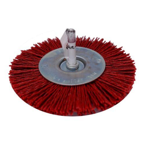 Rhodius HRB Nylon Rundbürste fein grob Bürste Schleifmittel Borsten Bohrmaschine