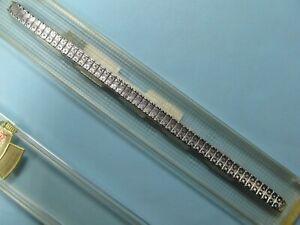 New-6-034-Stretch-Vintage-SPEIDEL-10K-White-Gold-Filled-Ladies-Watch-Band