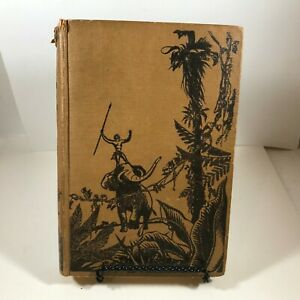 Vintage-Hardcover-1923-TARZAN-and-the-Golden-Lion-Edgar-Rice-Burroughs