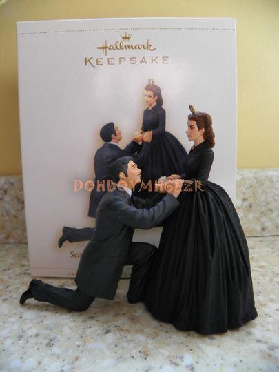 Hallmark 2006 Scarlett O'Hara and Rhett Butler Gone with the Wind Ornament