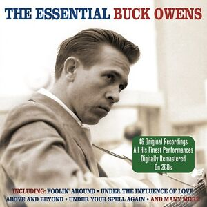 Buck-Owens-The-Essential-Best-Of-Greatest-Hits-2CD-NEW-SEALED