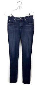 AG-Adriano-Goldschmied-Skinny-Jeans-The-Prima-Mid-Rise-Cigarette-Mercury-Size-27