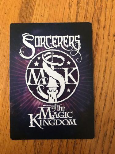 DISNEY SORCERERS OF THE MAGIC KINGDOM CARD YOU PICK
