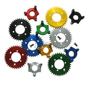 "CNC 36T Sprocket,Adapt<wbr/>er 66cc 80cc 2 Stroke Motorized Bicycle 1.5"" Hub 415 Chain"