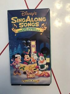 Disney Sing Along Songs Christmas Vhs.Details About Disney S Sing Along Songs Very Merry Christmas Songs Vol 8 Vhs Tested Working