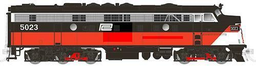 Rapido Trains 15527 N Scale Penn Central 5006 EMD FL9 elder 5A w LokSound & DCC