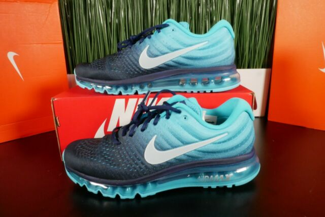 Nike Air Max 2017 Men's Running Shoes Binary Glacier Blue 849559 404 Multi Size