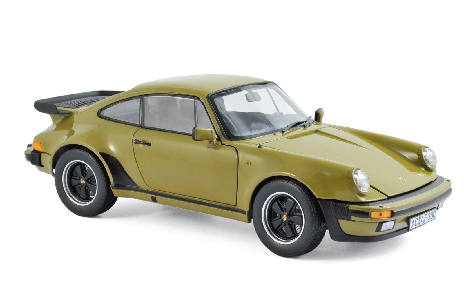 Porsche 911 Turbo 3,3 L 1977 olive vert 1:18 Norev 187575 NOUVEAU & NEUF dans sa boîte | Mode Attrayant  | Dans Un Style élégant  | Soldes  | Vente Chaude