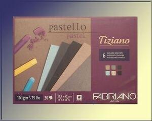 Farbiges-PASTELLPAPIER-in-6-dunklen-Farben-fuer-Pastellkreiden-Pastellstifte-A3