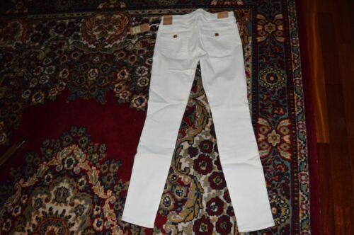 248 White True Jeans Skinny Halle Optic Super Sz 30 Womens Religion Brand qrqUP8