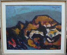 Ivan Jordell 1901-1961, Berg mit Herbstlaub, um 1950/60