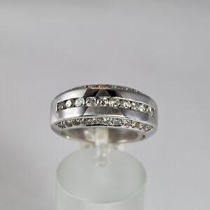 Brillant Ring 0,90ct Weißgold 750 Größe 55 Handarbeit Idar Oberstein Neue Sorten Werden Nacheinander Vorgestellt Uhren & Schmuck Echtschmuck