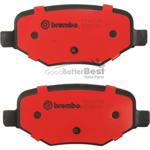 New Brembo Disc Brake Pad Set Rear P24172N Ford Lincoln