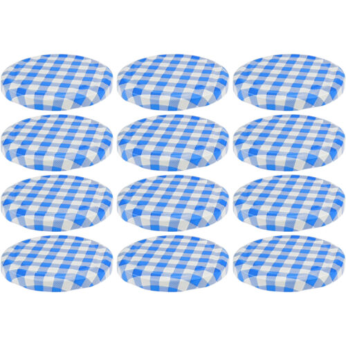 12 Einmachdeckel To 82 Ersatzdeckel Einmachglas Schraub Deckel Twist Off blau
