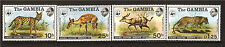 GAMBIA  série 4t.neufs #a49 341-344 Léopard,Serval,Antilopes,Sitatunga  E 208