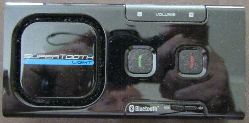 Supertooth Light Bluetooth Mobile Phone Handsfree Car Kit