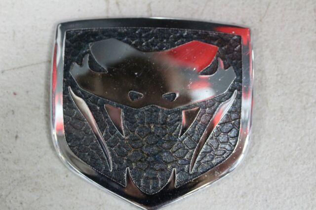 GEN 3 OR 4 (2003-2010) DODGE VIPER FANGS HOOD EMBLEM BADGE ...  Dodge Viper Emblem History