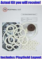 1968 Chicago Coin Gun Smoke Pinball Machine Rubber Ring Kit