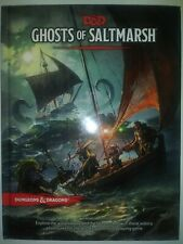 GHOSTS Of SALTMARSH 5th Fifth 5e 5.0 D&D DnD Dungeons Dragons NEW Hardcover Book