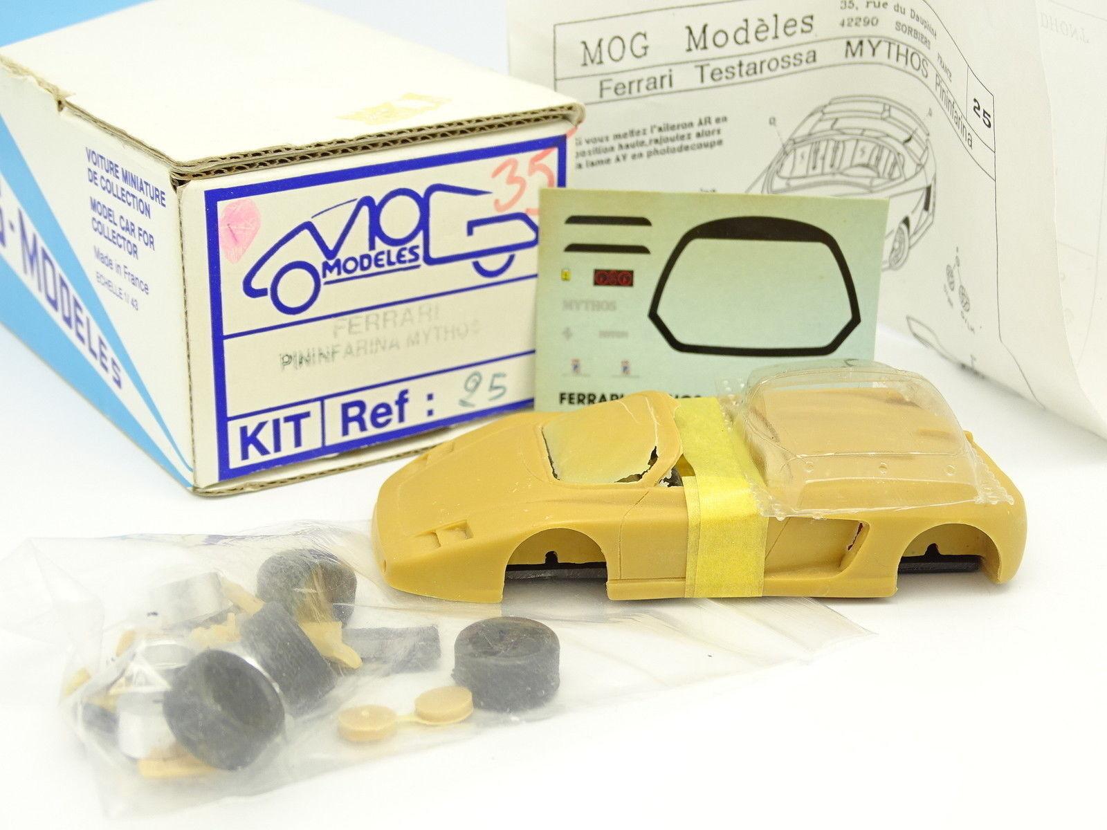 MOG Models Kit à Monter 1 43 - Ferrari Mythos Pininfarina