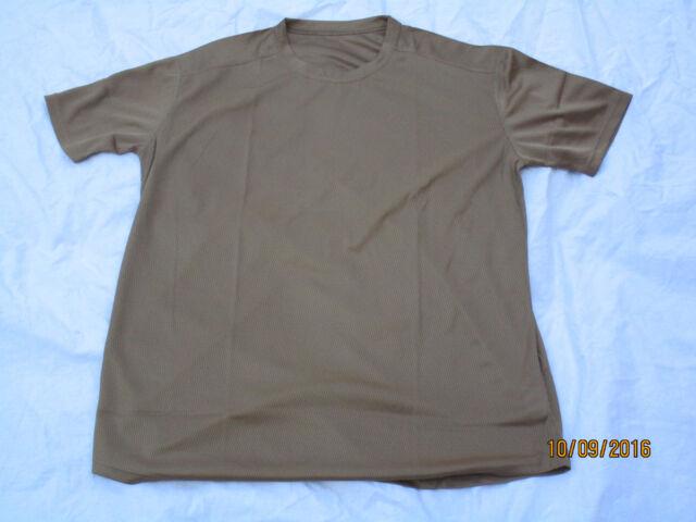 T-Shirt Combat ,sand,Golfkrieg,original,sehr leicht, Gr. 118cm / XL,hellbraun