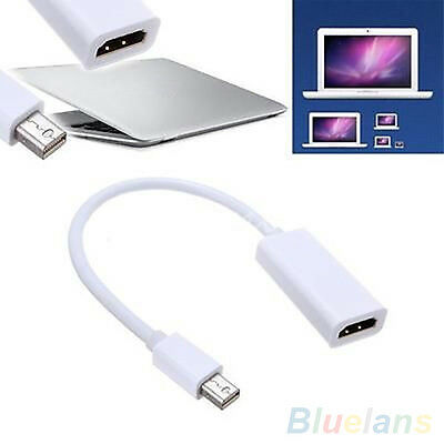 PORTABLE NICE MINI DISPLAY PORT DP TO HDMI ADAPTER CABLE FOR MAC MACBOOK PRO AIR