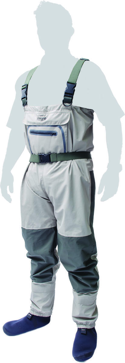 Leeda Volare Breathable Chest Fishing Fishing Fishing Waders - All Größes - 808222