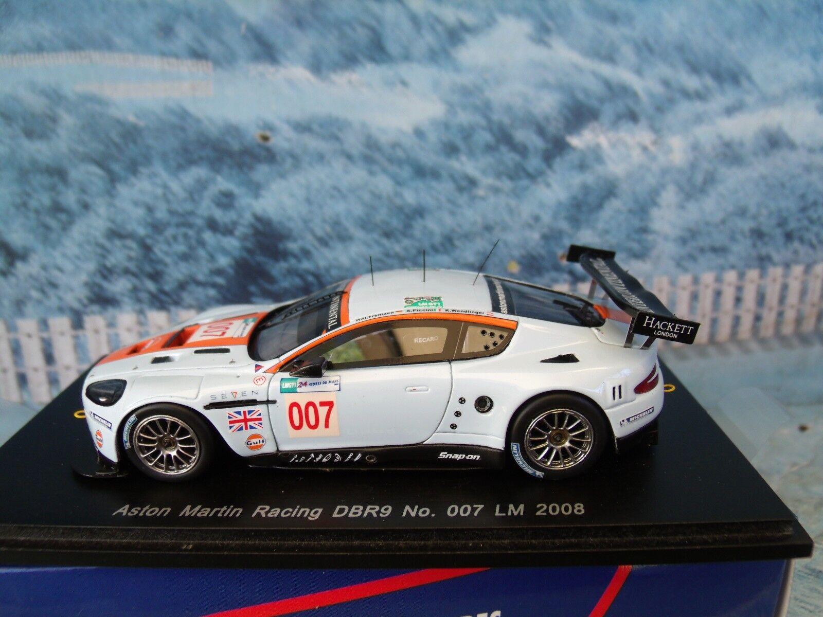 1 43 Spark Aston Martin DBR9 Edición Limitada Mans LM 24HR 2008  007
