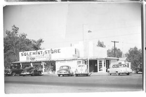 1950-Solemint-Store-Saugus-California-Soledad-amp-Mint-Canyons-Real-Photo-RPPC