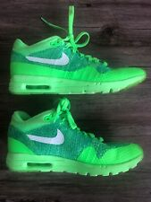 Details about NIKE AIR MAX 1 ULTRA FLYKNIT VOLTAGE GREENWHITE MEN'S 843384 301 SZ 13