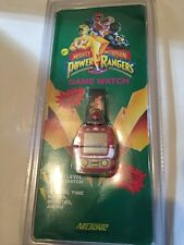 mint unused Mighty Morphin Power Rangers Game Watch MIP nelsonic nintendo