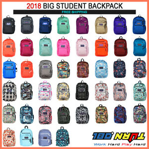 JANSPORT-BIG-STUDENT-BACKPACK-ORIGINAL-100-AUTHENTIC-SCHOOL-BOOK-BAG-LAPTOP