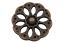 schicke messing antik Metall Knöpfe Durchbruch Muster Blume Blüte 5 Stück