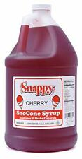 Snappy Cherry Sno Cone Syrup 1 Gallon