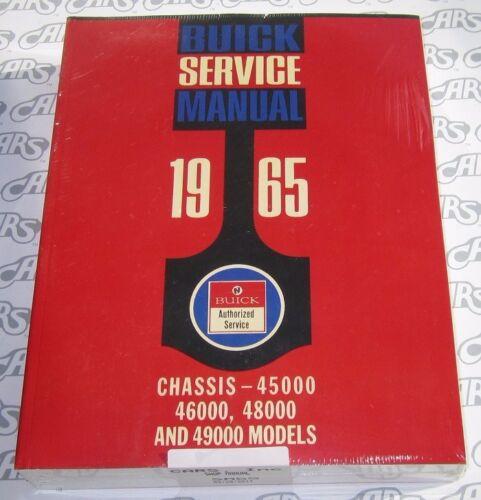 1965 Buick Shop Manual LeSabre Electra Wildcat Riviera Free Shipping