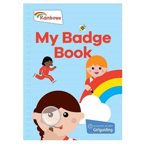 RAINBOW MY BADGE BOOK OFFICIAL GIRLGUIDING NEW