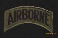 AIRBORNE TAB HAT PATCH USA INFANTRY CO PIN UP US ARMY MARINES GIFT VETERAN JUMP