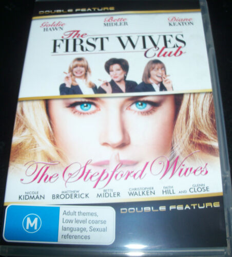 1 of 1 - The First Wives Club / The Stepford Wives (Aust Reg 4) DVD - Like New