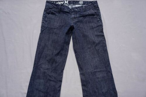 Hurley Low Rider Stretch Denim Boot Cut Jeans Dark