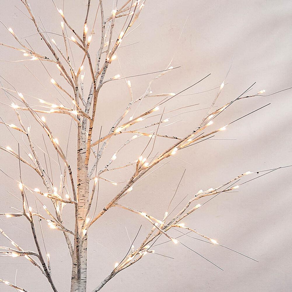 Birch Tree Light Floor Lamp Table