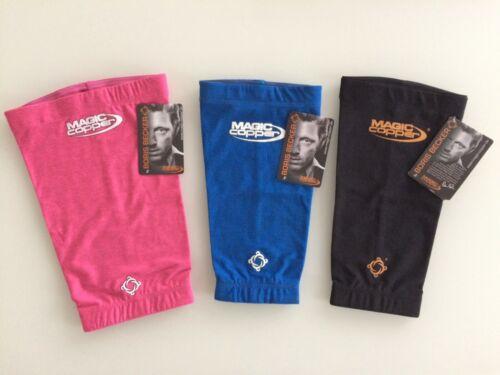 Magic Copper de Genou Bandage Rose Bleu Noir S M L XL XXL Boris Becker cuivre